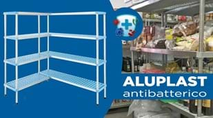 Antibacterial shelf