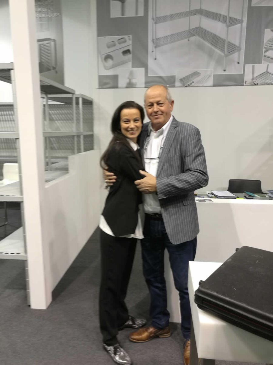 Host 2017 - Mr. Brescancin with his daughter